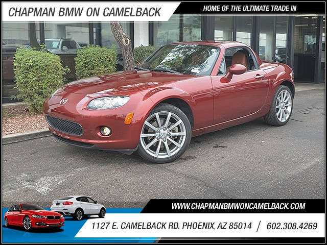 2007 Mazda MX-5 Miata Grand Touring 42907 miles Cruise control Anti-theft system engine immobil