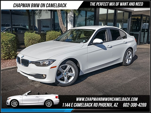 2014 BMW 3-Series Sdn 320i 38075 miles Phone hands free Satellite communications BMW Assist Wir