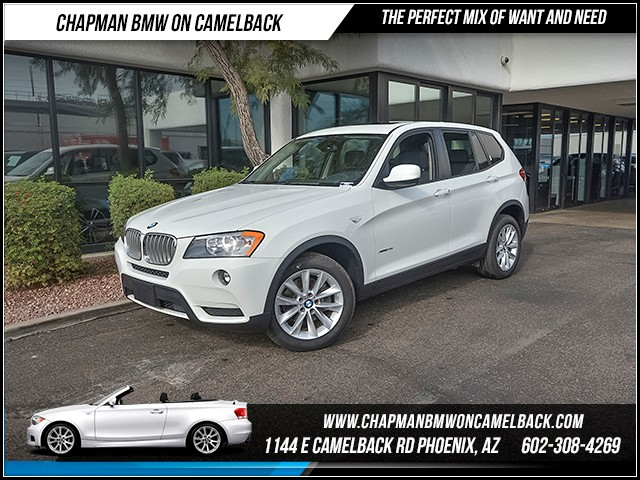 2014 BMW X3 xDrive28i 36007 miles Phone hands free Satellite communications BMW Assist Wireless