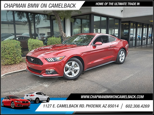 2015 Ford Mustang EcoBoost 14659 miles 6023852286 1127 E Camelback Rd Chapman Value center