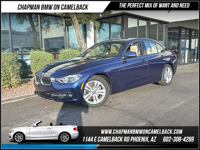 2016 BMW 3-Series Sdn 328i 9939 miles Sport Package Premium Package Phone hands free Enhanced