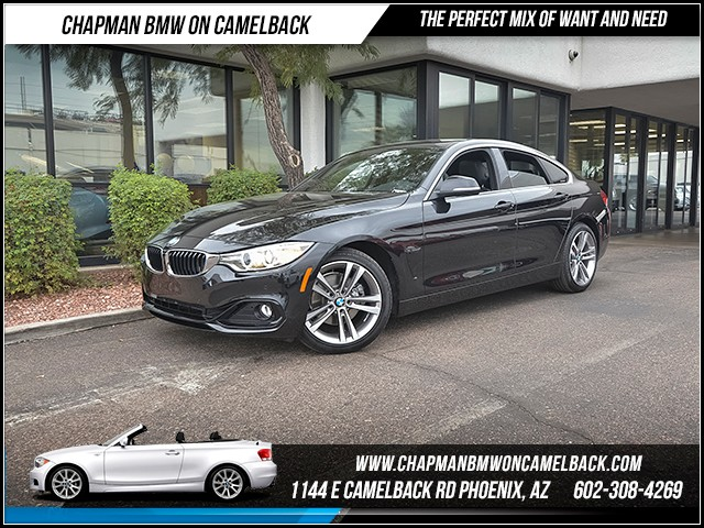 2016 BMW 4-Series 428i Gran Coupe 12507 miles 6023852286 12th St and Camelback Chapman BMW