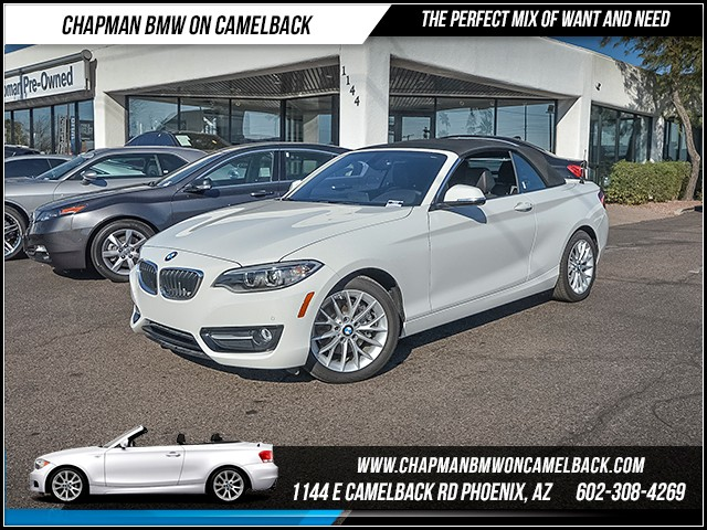 2016 BMW 2-Series Conv 228i 7879 miles Sport Package Driving Assistance Package Lighting Packag