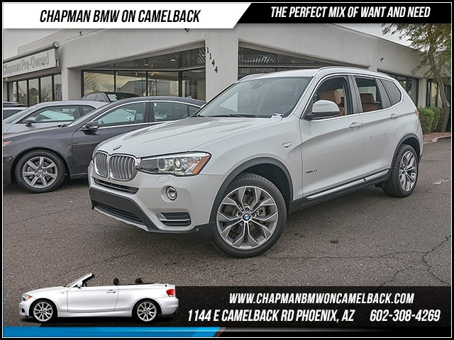 2017 BMW X3 xDrive28i 17071 miles xLine Driving Assistance Package Driver Assistance Plus Cold