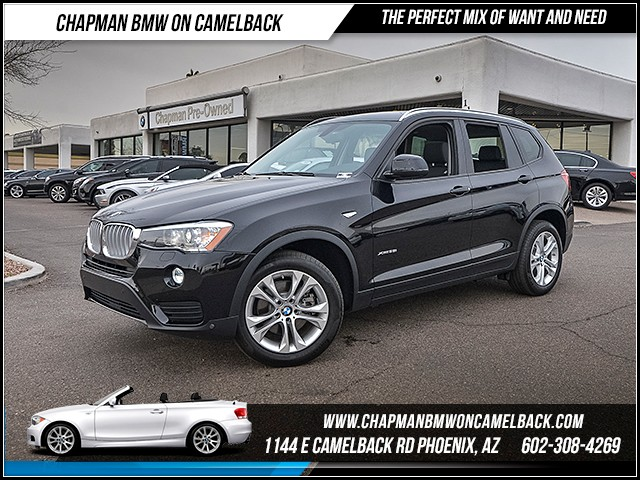 2017 BMW X3 xDrive35i Driver Assist Pkg 5669 miles 6023852286 12th St and Camelback Chapma