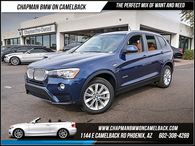 2017 BMW X3 sDrive28i PremDriver AssistTec 5216 miles 6023852286 12th St and Camelback C