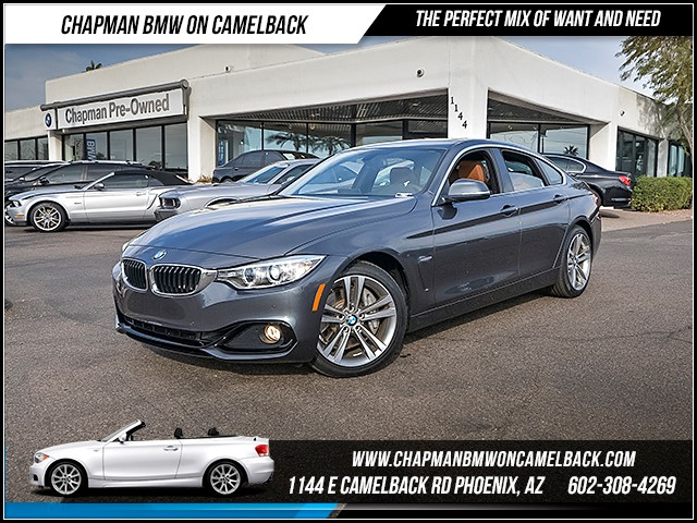 2016 BMW 4-Series 435i Gran Coupe SportDriver Ass 6862 miles 1144 E Camelback Rd Why buy new wh