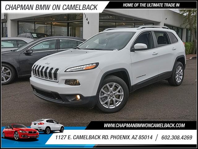 2016 Jeep Cherokee Latitude 44312 miles 6023852286 1127 E Camelback Rd Chapman Value center