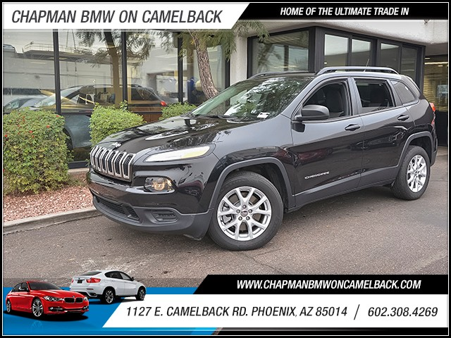 2016 Jeep Cherokee Sport 31239 miles 6023852286 1127 E Camelback Rd Chapman Value center on