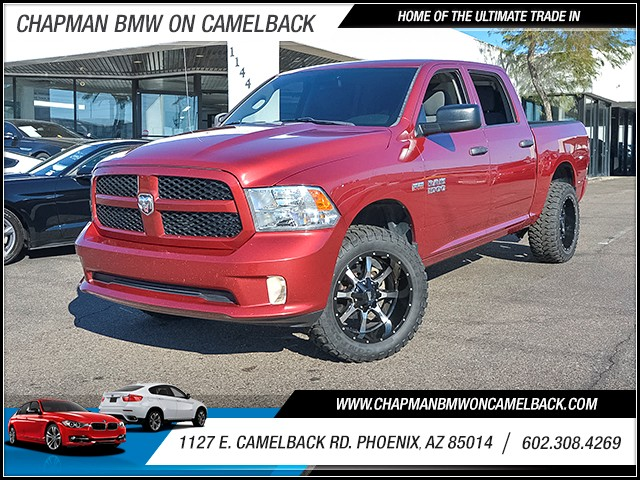 2014 Ram 1500 Express Crew Cab 68266 miles 6023852286 1127 E Camelback Rd Chapman Value cen