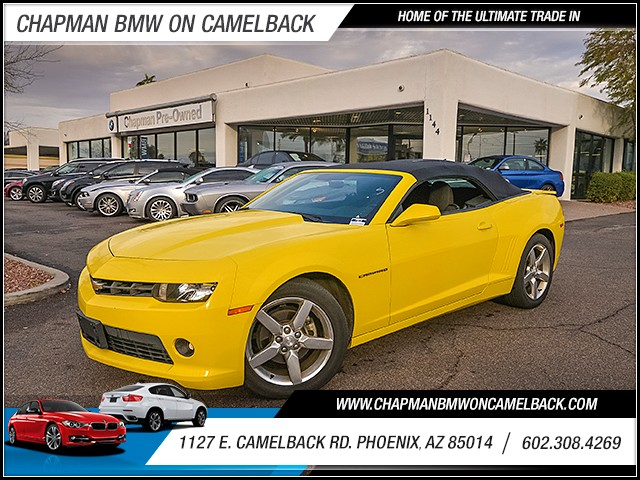 2014 Chevrolet Camaro LT 33847 miles Wireless data link Bluetooth Satellite