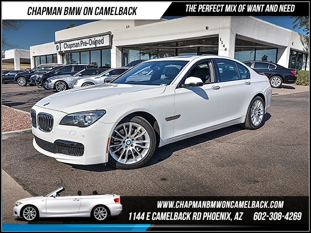 2014 BMW 7-Series 740i 37518 miles Executive Package M Sport Package Sport Package Real time t