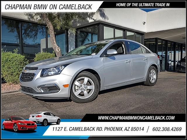 2016 Chevrolet Cruze LT 42639 miles 6023852286 1127 E Camelback Rd Chapman Value center on