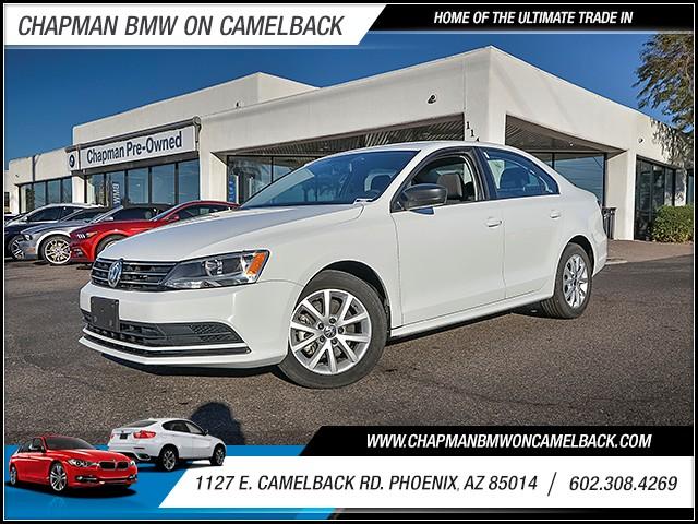 2015 Volkswagen Jetta SE PZEV 42824 miles 6023852286 1127 E Camelback Rd Chapman Value cent