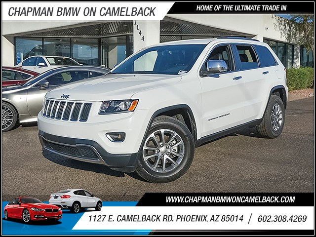 2015 Jeep Grand Cherokee Limited 40818 miles 6023852286 1127 E Camelback Rd Chapman Value ce