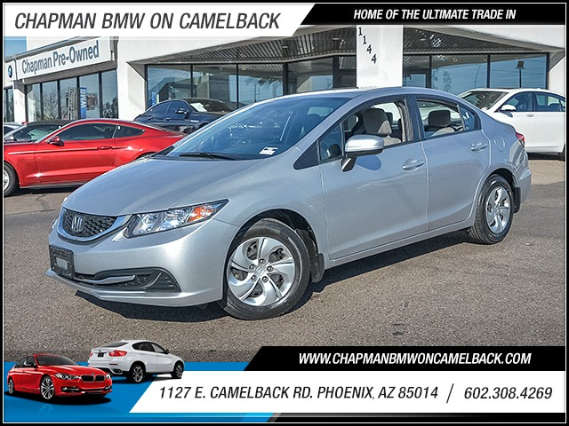2014 Honda Civic LX 18396 miles 6023852286 1127 E Camelback Rd Chapman Value center on Came