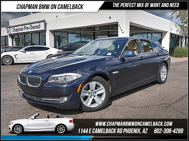 2011 BMW 5-Series 528i 43233 miles Satellite communications BMW Assist Wireless data link Blueto