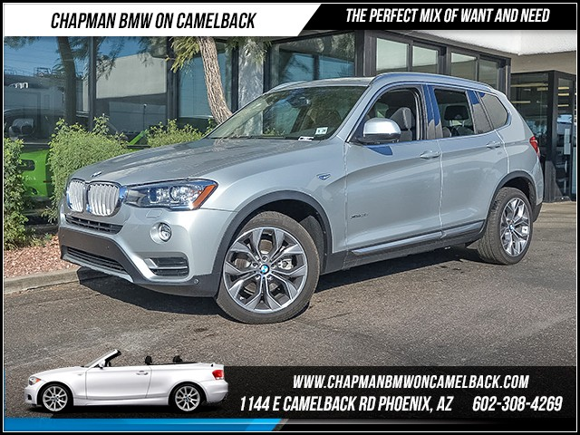 2016 BMW X3 xDrive35i 10890 miles X Line Technology Package Premium Package Driving Assistance