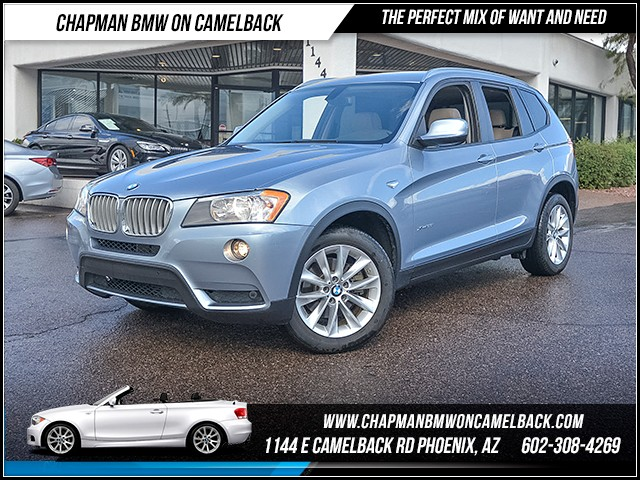 2014 BMW X3 xDrive28i 51626 miles Driving Assistance Package Premium Package Wireless data link