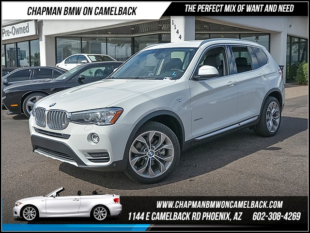 2016 BMW X3 xDrive28i 6707 miles X Line Technology Package Lighting Package Harman Kardon surr