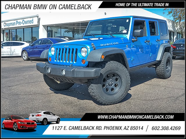 2010 Jeep Wrangler Unlimited Rubicon 59736 miles 6023852286 1127 E Camelback Rd Chapman Valu