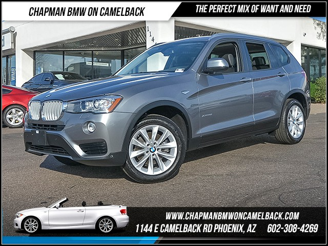 2016 BMW X3 xDrive28i 7092 miles Premium Package Technology Package Lighting Package Cold Weat