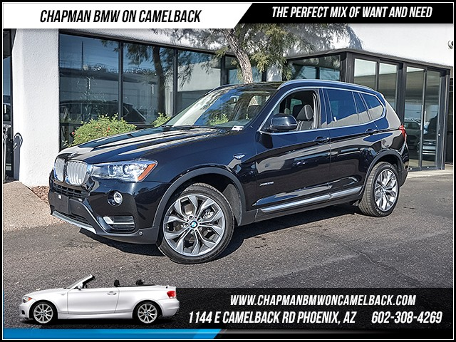 2016 BMW X3 xDrive28i 5274 miles X Line Technology Package Premium Package Lighting Package D
