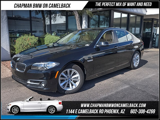 2016 BMW 5-Series 528i 1360 miles Wireless data link Bluetooth Satellite communications BMW Assi