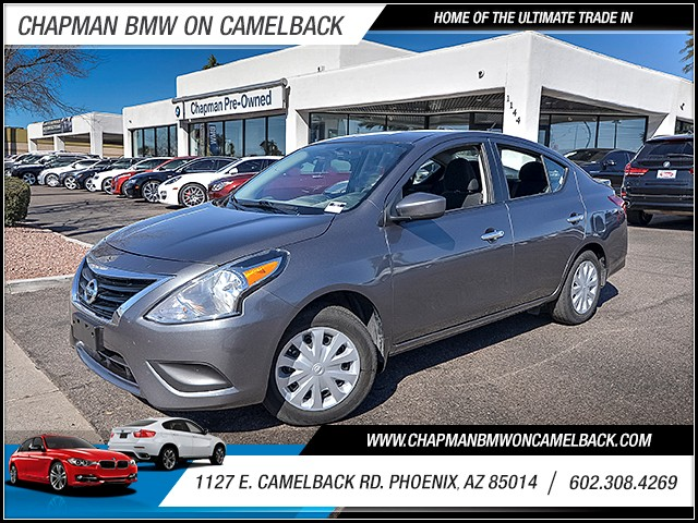 2016 Nissan Versa 16 SV 25326 miles 6023852286 1127 E Camelback Rd Chapman Value center on