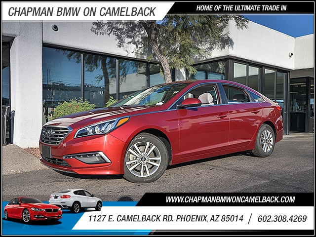 2015 Hyundai Sonata SE 49073 miles 6023852286 1127 E Camelback Rd Chapman Value center on C