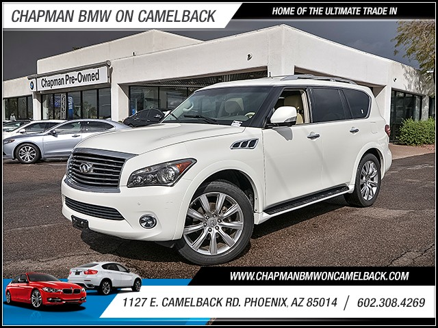 2012 INFINITI QX56 66066 miles 6023852286 1127 E Camelback Rd Chapman Value center on Camelb
