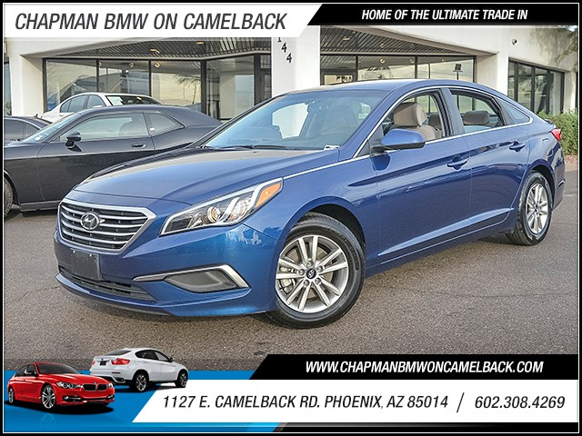 2016 Hyundai Sonata SE 38341 miles 6023852286 1127 E Camelback Rd Chapman Value center on C