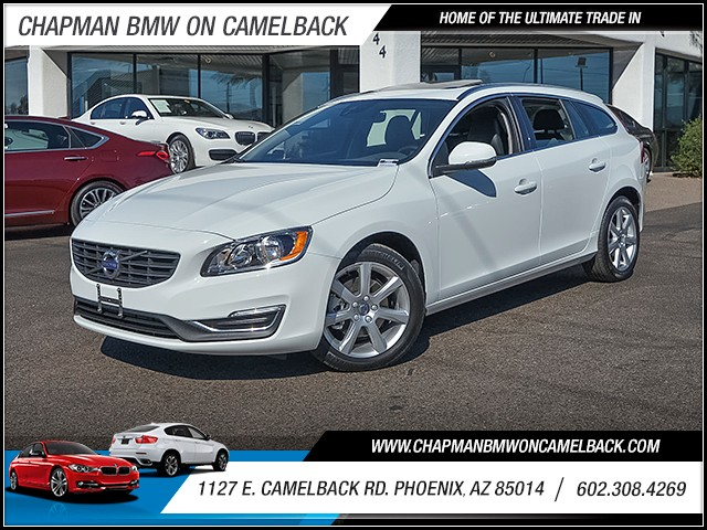 2017 Volvo V60 T5 Premier 6376 miles 6023852286 1127 E Camelback Rd Chapman Value center on