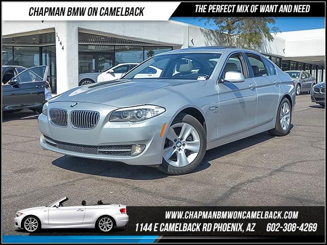 2012 BMW 5-Series 528i xDrive 64448 miles Cold Weather Package Satellite communications BMW Assi