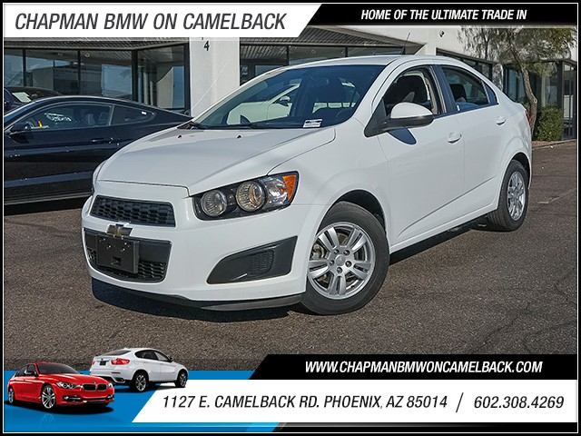 2014 Chevrolet Sonic LT 41506 miles 6023852286 1127 E Camelback Rd Chapman Value center on