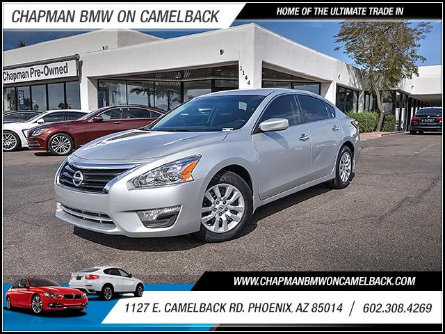 2015 Nissan Altima 25 S 37945 miles 6023852286 1127 E Camelback Rd Chapman Value center on
