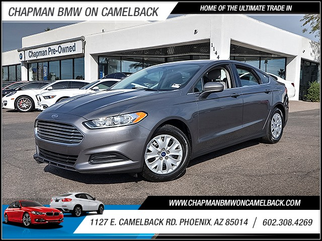 2014 Ford Fusion S 60587 miles 6023852286 1127 E Camelback Rd Chapman Value center on Camel