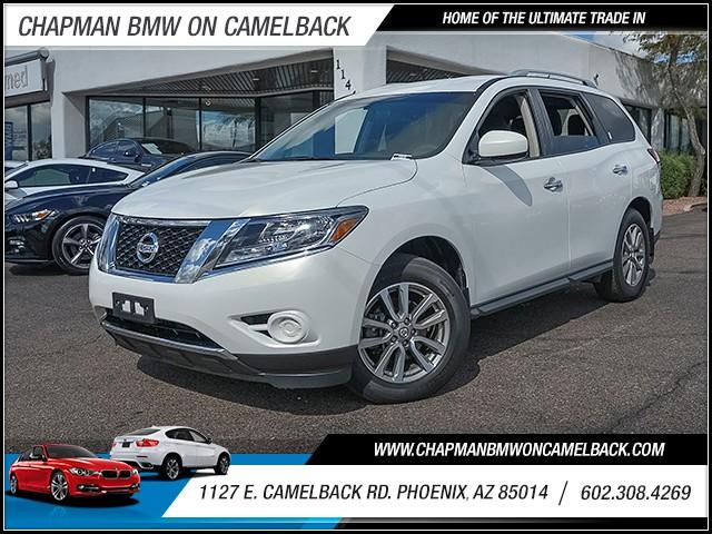 2014 Nissan Pathfinder SV 34573 miles 6023852286 1127 E Camelback Rd Chapman Value center o