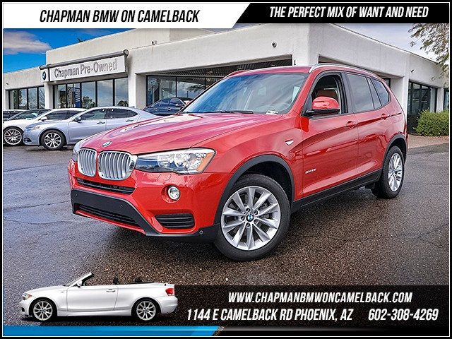 2017 BMW X3 sDrive28i 6078 miles Premium Package II Technology Package Driver Assistance Packag
