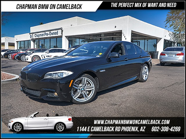 2013 BMW 5-Series 535i 36137 miles Premium Package M Sport Package Technology Package Driving