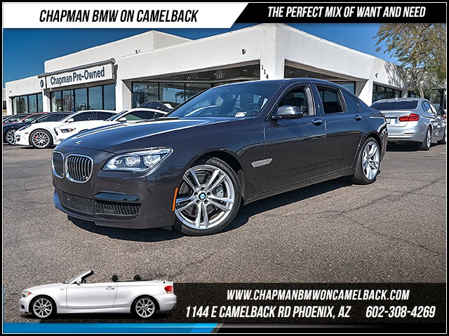 2013 BMW 7-Series 750i 51830 miles Executive Package M Sport Package Driving Assistance Package