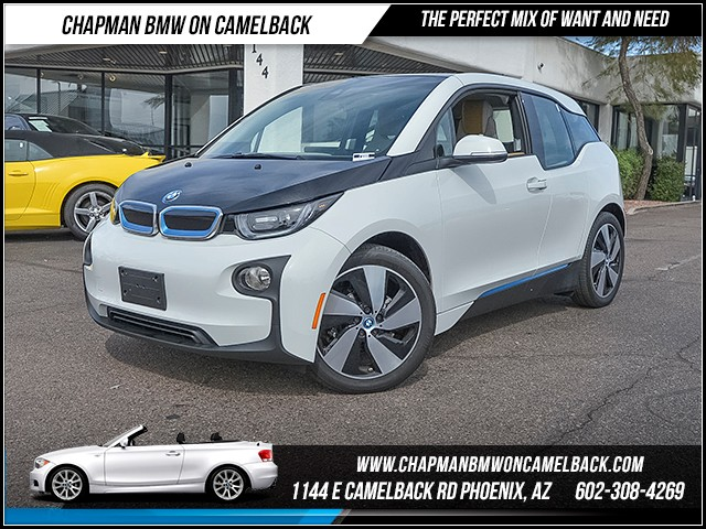 2014 BMW i3 8834 miles Giga World Tech  Driving Assist Package Satellite communications BMW As