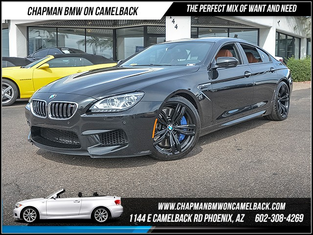 2014 BMW M6 Gran Coupe 30849 miles Executive Package Satellite communications BMW Assist Real t