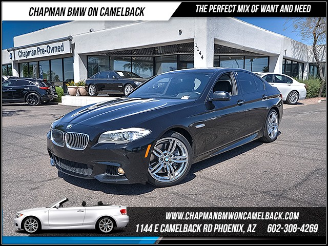 2013 BMW 5-Series 550i ExecDriver AssistMspt Pkg 44901 miles 6023852286 - 12th St and Camelba