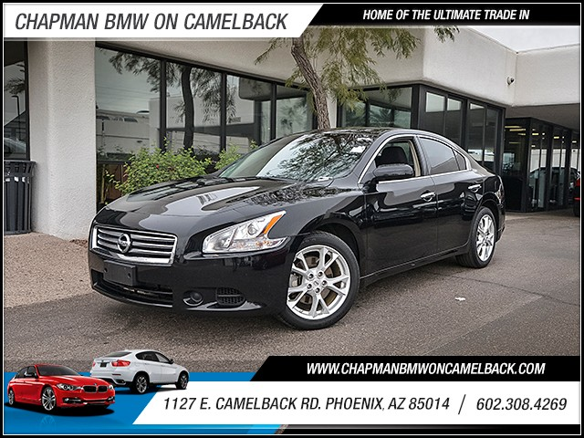 2014 Nissan Maxima 35 S 24960 miles 6023852286 1127 E Camelback Rd Chapman Value center on