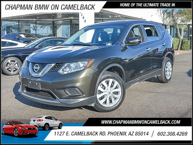 2014 Nissan Rogue S 37817 miles 6023852286 1127 E Camelback Rd Chapman Value center on Camel