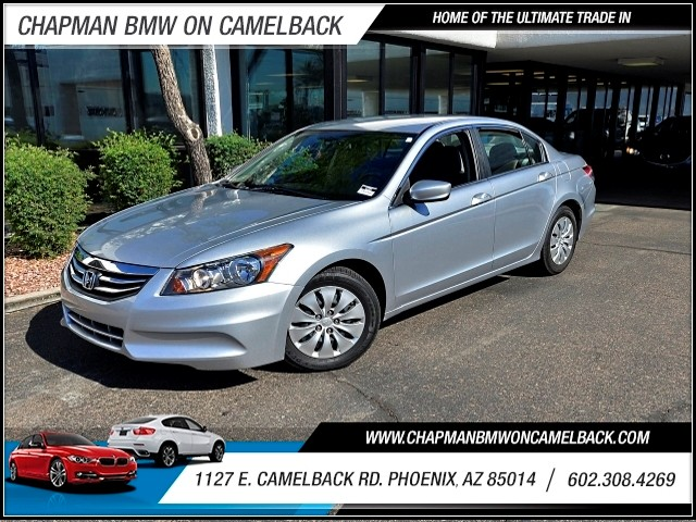 2012 Honda Accord LX 27047 miles 602 385-2286 1127 E Camelback HOME OF THE ULTIMATE TRADE IN