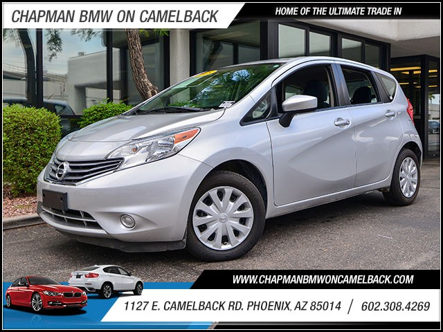 2015 Nissan Versa Note SV 45250 miles Wireless data link Bluetooth Steering wheel tilt Speed s