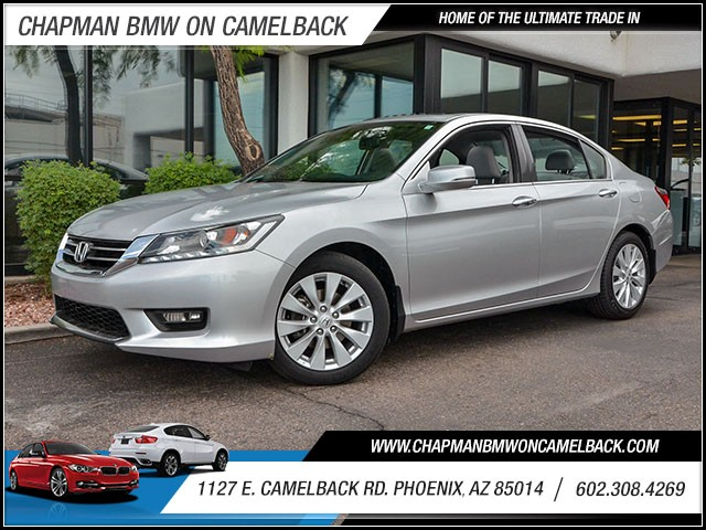 2014 Honda Accord EX-L wNavi 38785 miles 6023852286 1127 E Camelback Rd Chapman Value cent