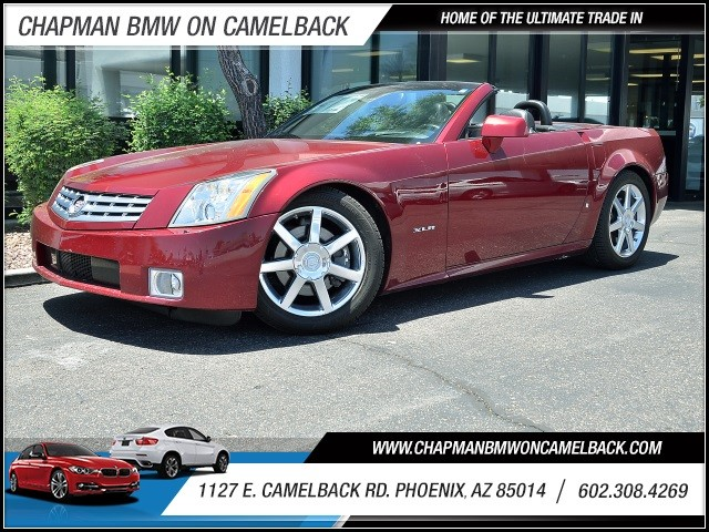 2006 Cadillac XLR 57636 miles 602 385-2286 1127 E Camelback HOME OF THE ULTIMATE TRADE IN